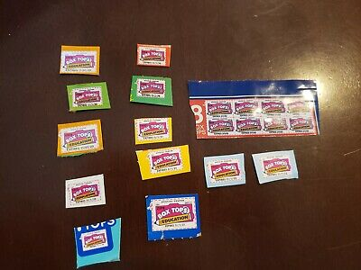 20 Box Tops For Education BTFE Neatly Trimmed