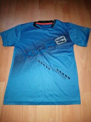 Blue Sports Top Age 12_13 Years