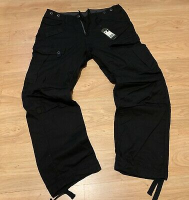 G STAR RAW Type C 3D Loose Tapered Army Green 33W 32L BNWT