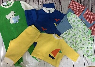 Lot of 5 Sets Vintage Baby Pajama Bonwit Teller Bloomingdale Lord Taylor Toddler