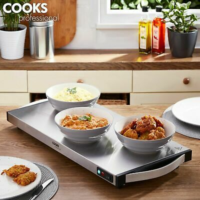 Professional Cordless Electric Hot Plate Buffet Warmer Food Tray 1300W