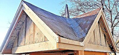 Antique Four Sided Barn Cupola with Roof Finial - C. 1870 Architectural Salvage
