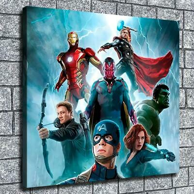 """12""""x14""""Thunder justice league HD Canvas print Home decor Wall art painting photo"""
