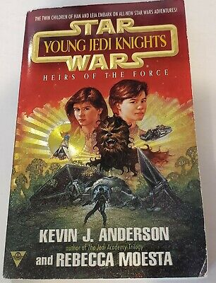 Star Wars Paperback Book: Young Jedi Knights Heirs of the Force Kevin J Anderson