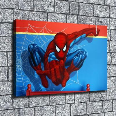 """12""""x18"""" Orchid refers to Spiderman HD on Canvas Home Decor Room Wall Art paints"""