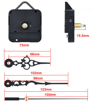 Quartz Wall Clock Movement Mechanism Replacement Motor Repair DIY Tools Part Kit