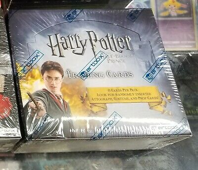 Harry Potter and the Half Blood Prince - Sealed Trading Card Box - Hobby