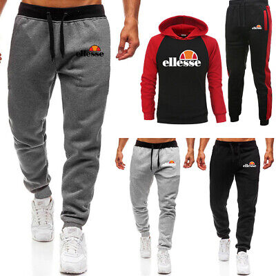 Mens Hoodies Bottoms SuitJogging Sets Gym Pullover Tracksuit Pants Jogging Suit