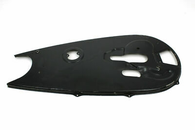 Black Rigid Chain Guard for Harley Davidson by V-Twin