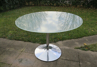 trempé ronde110 cmverre TABLE VERRE dépolipied EN GLpUSzVjqM