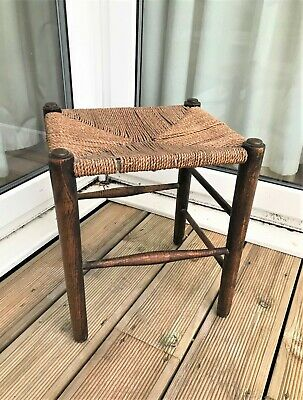 Antique Arts and Crafts William Morris period stool (ref 19.12.009A)