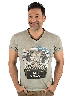 Marjo Traditional Costume T-Shirt E19 - Schlawina Middlegrey