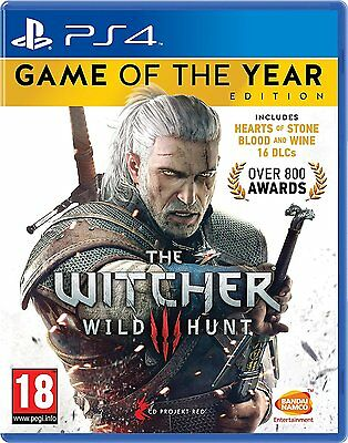 The Witcher 3 Wild Hunt GOTY PS4 NEW DISPATCHING TODAY ALL ORDERS BY 2 P.M.
