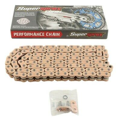 New Supersprox 520 X-Seal Chain 120 Link for Triumph Street Twin 16-17