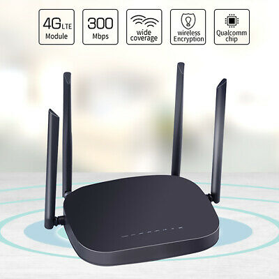 UNLOCKED WIFI ROUTER Huawei B612s 25d 4G CAT6 CPE 300Mbps