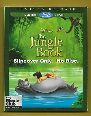 Disney The Jungle Book SLIPCOVER ONLY fits blu-ray case