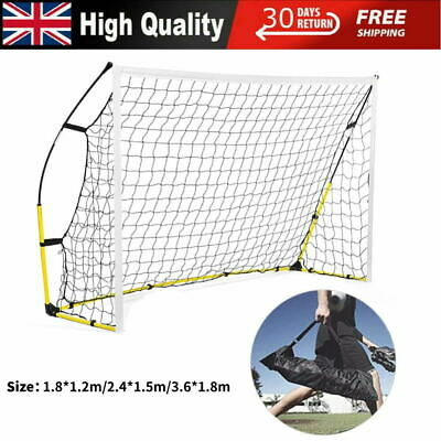 Portable Football Post Rebounder The Ultimate Rebound Net Soccer Training Aid