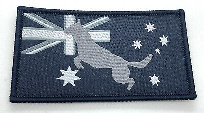 K9, Dog Patch, Australian Flag, Woven, Blue, Hook Rear