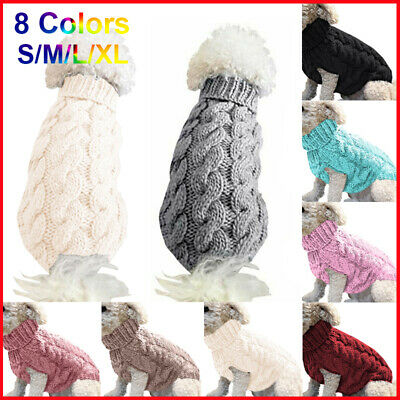 Small Dogs Soft Pet Dog Sweater Chihuahua Pullover Clothes Pet Outfit Jumper