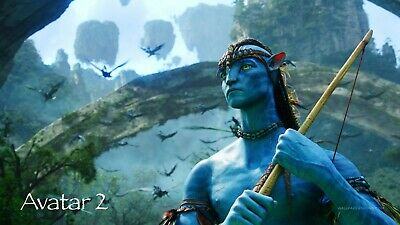 Avatar 2 ver 1 Movie Poster Canvas Picture Art Wall Decore