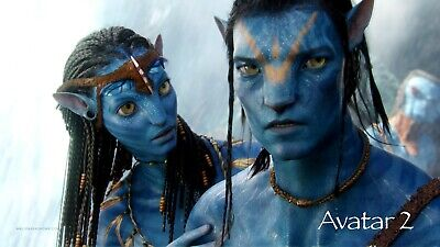 Avatar 2 ver 2 Movie Poster Canvas Picture Art Wall Decore