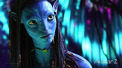Avatar 2 ver 3 Movie Poster Canvas Picture Art Wall Decore