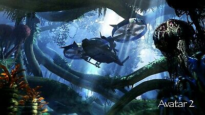 Avatar 2 ver 4 Movie Poster Canvas Picture Art Wall Decore