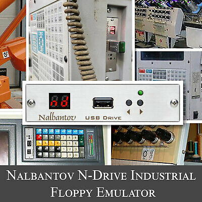 Nalbantov USB Floppy Emulator N-Drive Industrial for SABRE 3000 CUTTING MACHINE