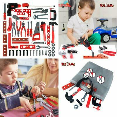 Toddler Boys Girls Toy Tools Educational Pretend Play Kids Learning Game 52 PCS-