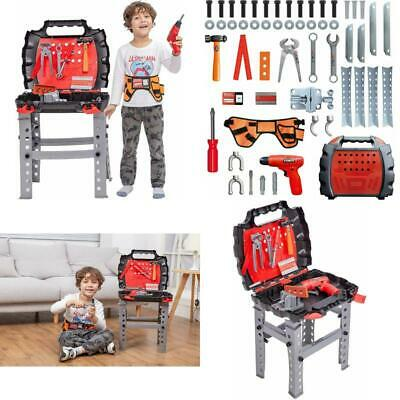 Toddler Boys Girls Toy Workbench Tools Educational Pretend Play Learning 55 PCS
