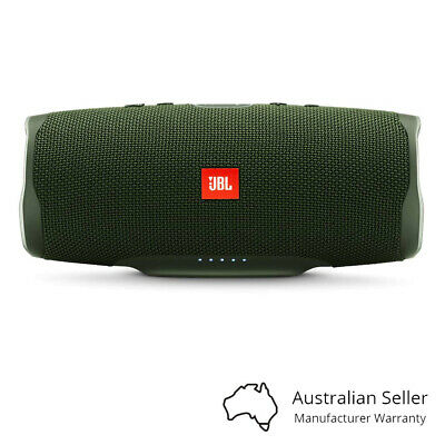JBL Charge 4 Portable Bluetooth Speaker With Power Bank - Green