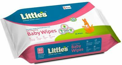 Soft Cleansing Baby Wipes with Aloe Vera, Jojoba Oil and Vitamin E (80 Wipes) US