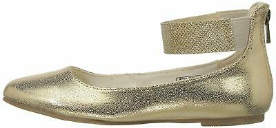 Kids Nine West Girls Floycee Zipper, Gold Shimmer, Size 9.0 TmvM US /