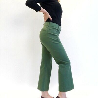 J. Crew Teddie Kick Flare Pants in Kelly Green 4