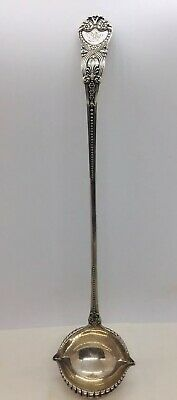 """Tiffany & Co. Antique Saint James Sterling Silver Punch Ladle with Button 15.25"""""""