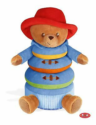 YOTTOY Paddington for Baby Stacker Stacking Plush Toy with Rattle