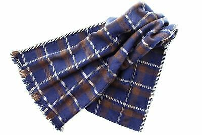 Sale Authentic Coach Wool Cashmere Bariegated Stripe Woven Scarf 85135