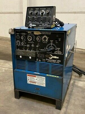 Miller Syncrowave 250 Dual Duty Cycle TIG and Stick Welding Power Source 48567