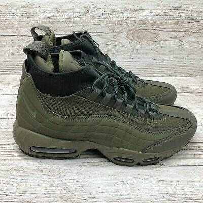 NIKE AIR MAX 95 Sneakerboot 'Flax Pack' UK 10 EUR 45 BNIB
