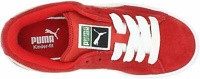 Kids Puma Girls unisex-child Suede Jr Low Top Lace Up Fashion, Red, Size 7.0 rDj