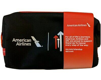 American Airlines Domestic Premium Business Class Travel Amenities Kit seal NEW