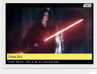 2019 Topps Star Wars Galactic Moments Countdown to Episode 9 - (DARK REY) #156