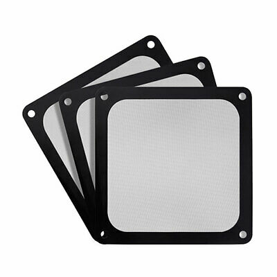 SilverStone 120mm Ultra Fine Magnetic Fan Filter 3 Pack : SST-FF123B-3PK (F42)