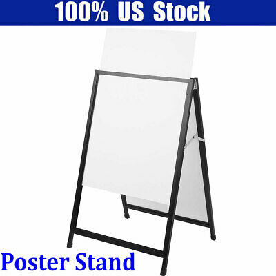 Heavy Duty A Frame Advertising Sign Board Double Side Poster Iron Stand Hot Sale