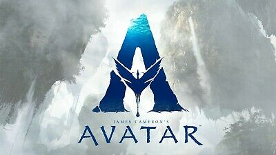 Avatar 2 ver 5 Movie Poster Canvas Picture Art Wall Decore