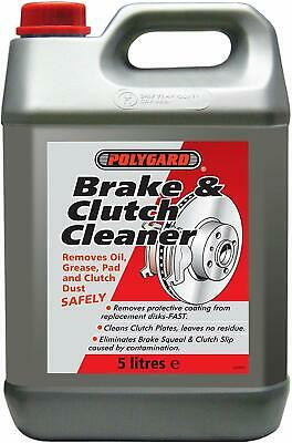 Polygard Brake and Clutch Cleaner Fluid 5L - 12200
