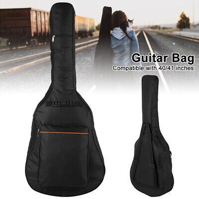 Full Size Padded Protective Classical Acoustic Guitar Back Bag Carry Case Cy