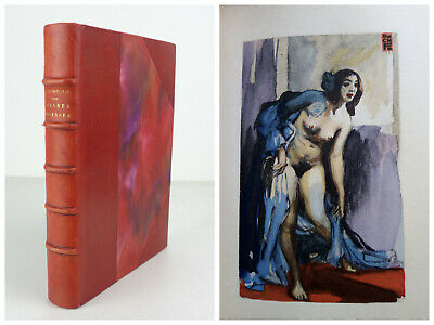 CHARLES BAUDELAIRE Oeuvres Diverses 1933 Javal Illustrations CHARLES FOUQUERAY