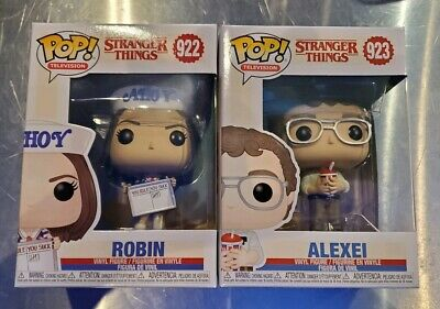 Funko Pop! Television: Stranger Things Alexei & Robin IN HAND FAST SHIPPING
