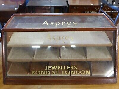 Asprey Victorian Jewellery Display Case